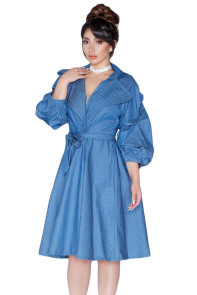 Blue Denim Dolly Dress