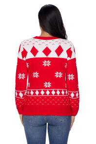Red 3D Christmas Sweater