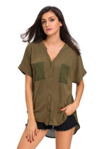 Gentle Fawn Bell Olive Green Top