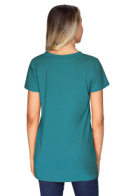Green Loose Fit Basic T-Shirt