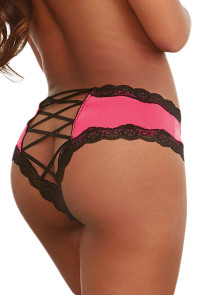 Rosy Cheeky Lace-up Back Panty