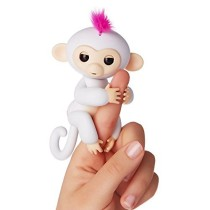 FINGERLINGS - INTERACTIVE BABY MONKEY - SOPHIE (WHITE)