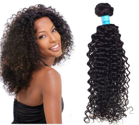 Hot Selling Mongolian Curly Wave Virgin Hair 100g