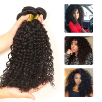 NO TANGLE VIRGIN HAIR KINKY CURL