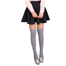 Women's Vintage Style Winter Over Knee Socks Wool Stockings Thigh High Leg Warmers (2pairs/lot)
