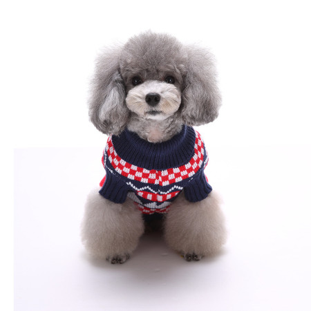 Classic  Snowflake Pet Clothes Sweater for Dogs