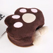 USB Heated Mouse Pad / Hand Warmer USB Warm Winter Mouse Pad with Wristguard-- Perfect Gift for Everyone