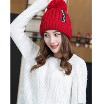 Women Winter Pom Pom Beanie Hat with Warm Fleece Lined, Thick Slouchy Snow Knie Skull Ski Cap