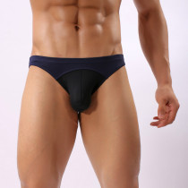 Mens Sexy Bulge Underwear Pouch Breathable Thongs Briefs(2 Pack)