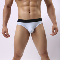 Men's G-String Thong Underwear Sexy Backless Cotton T-Back Briefs(2 Pack)