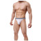 Men's Modal Comfortable G-string Thongs Sexy Low Rise T-Back Underwear Pack of 2