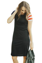 Closecret Black Patriotic Tee Dress