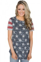 Closecret Camo Stars Stripes Tee