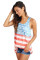 Closecret Light Blue American Flag Vintage Tank