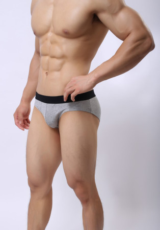 Closecret Men's Underwear Sexy Cotton Body Hip Briefs Middle-rise