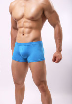Closecert Men's Boxer Briefs Seamless Stretch Breathable Underwear with Pouch
