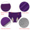 Nightaste Women Cotton Menstrual Period Briefs Sanitary Leak-Proof Panties(Pack of 3)