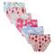 Closecret Kids Series Soft Cotton Baby Panties Little Girls' Assorted Briefs(Pack of 6)