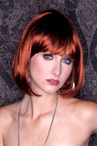 Brown Bob Wig with Bang