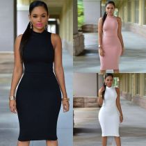 Hot Sale Bandage Dresses Sleeveless Women Dress