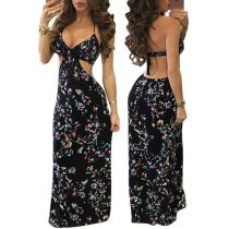 Hot Sale Print Club Dress Print Maxi Dress
