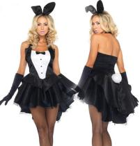 Wholesale Sexy Black Bunny Set