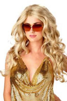 Glamour Long Full Curly Wig