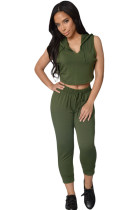Olive Fun on The Run Pant Set