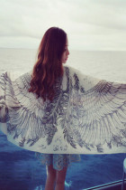 Angel Wings Fashion Long Scarf