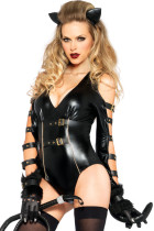 Sexy Fetish Feline Womens Costume