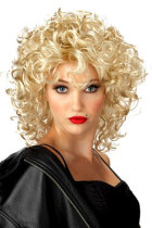 Funky Lite Curly Short Blond Wig