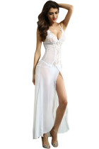 Bride to Be White Sleepwear Gown