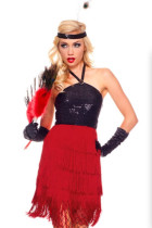 Fiery Red Flapper Costume