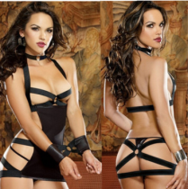 Sexy Leather Lingerie Leather Costumes
