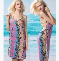 New arrival big discount beachdress