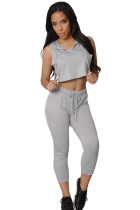 Grey Fun on The Run Pant Set