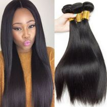 100% Black Human Hair Fashion Straight Hair Wholesale