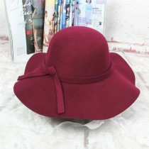 Fashion Wine Woolen Hat Wholesale