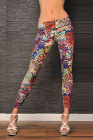 Ethnic Pattern Leggings L9546