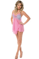Sweet Bouquet Layered Front Baby Doll 2433