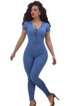 Back Zipper Fahion Jumpsuits L55262