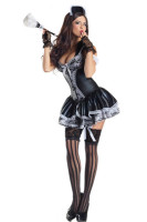 Morris Costumes French Maid Body Shaper L15507