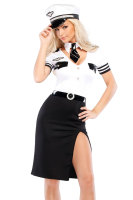 Sexy Mile High Pilot Costume L1349
