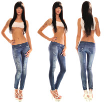 Jeans Look Legging L9608