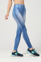 Jeans Look Blue Leggings L97037