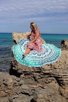 The Beach Round Towel L38357