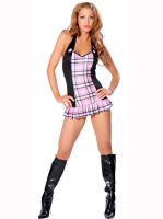 Check Mini Dress Set L1082