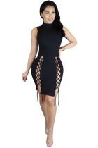 Sleeveless Sexy Bodycon Dresses L28212