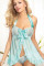 Blue Beauty Babydoll L27881