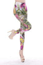 Flower Pattern Girl Leggings L9628
